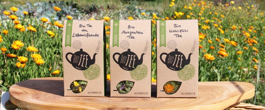 Bio Tee handgepflückt