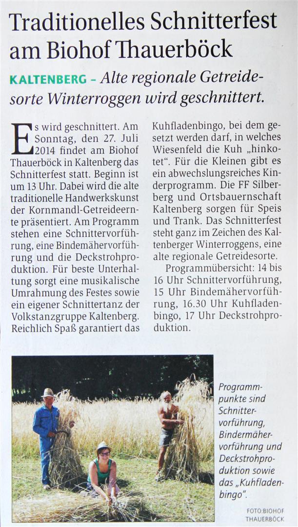 Presse_Biohof_Schnitterfest 2