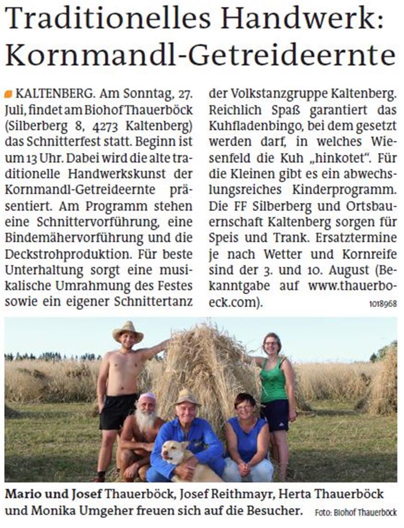 Presse_Biohof_Schnitterfest