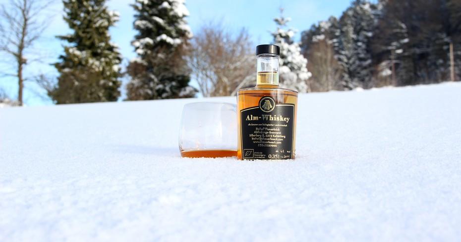 Whiskey im Schnee_biohof