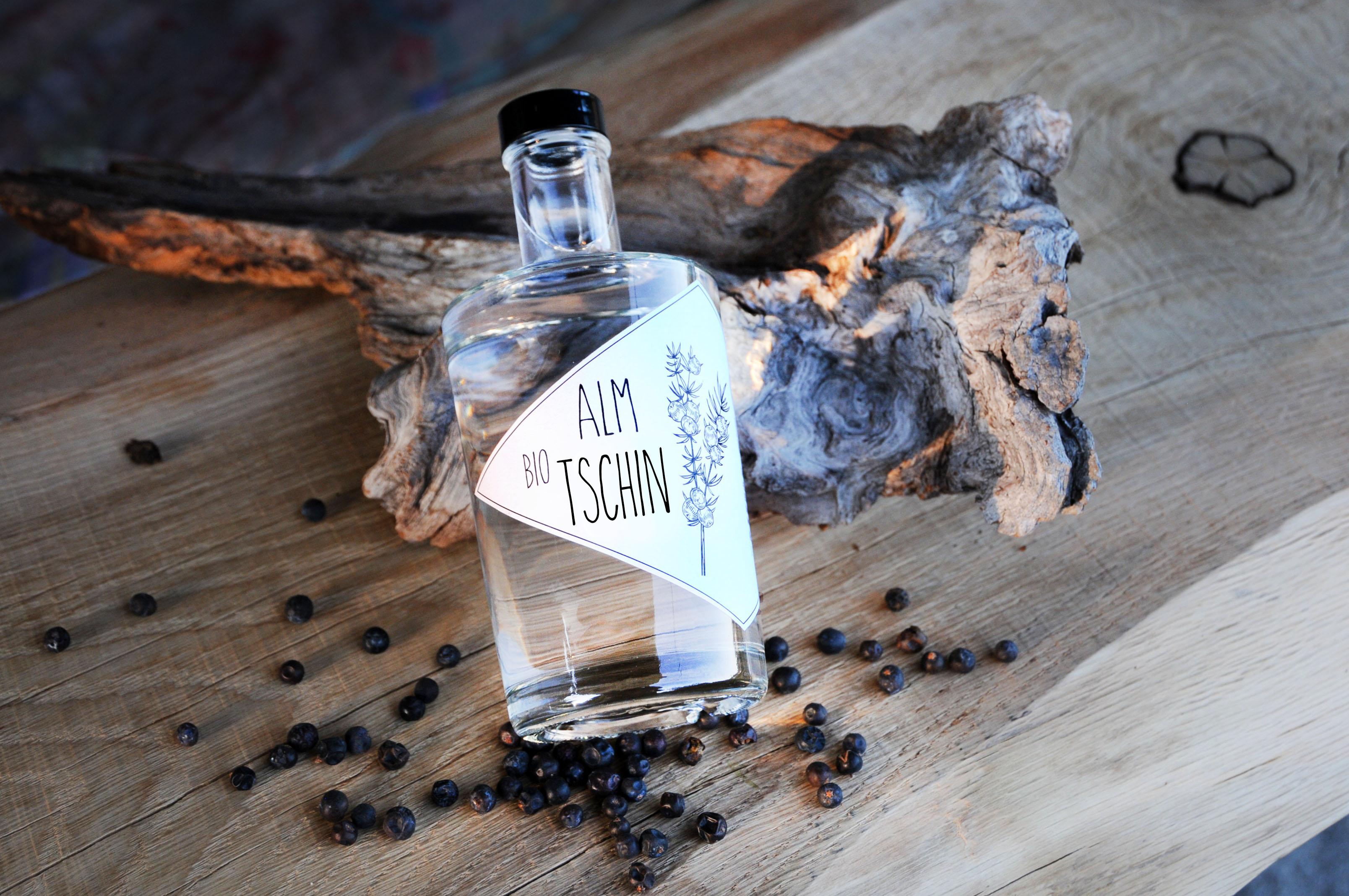 Bio Tschin, österreichischer Gin aus dem Mühlviertel