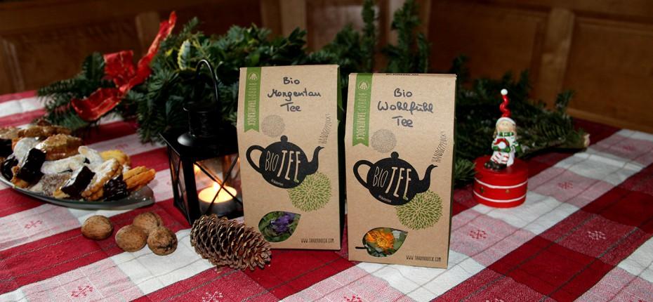 weihnachtsgeschenk tee handgepflückt bio