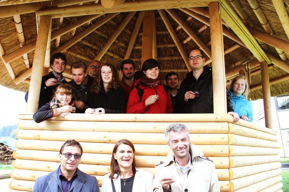 Besucher_Biohof_TU Studenten2