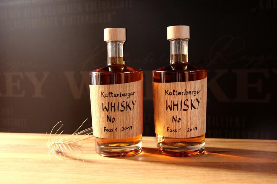 Kaltenberger Whisky Flasche