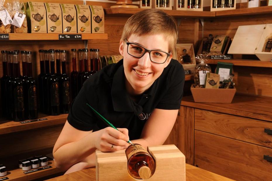 Kaltenberger Whisky beschriften Monika