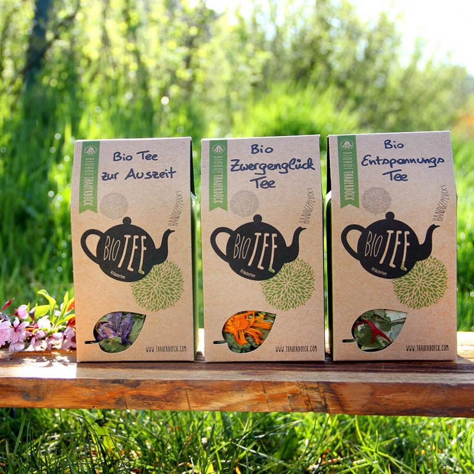 Auszeit Zwergenglück Entspannung Tee quadrat