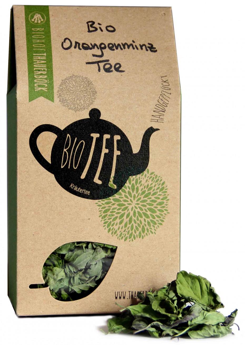 Bio Orangenminz Tee