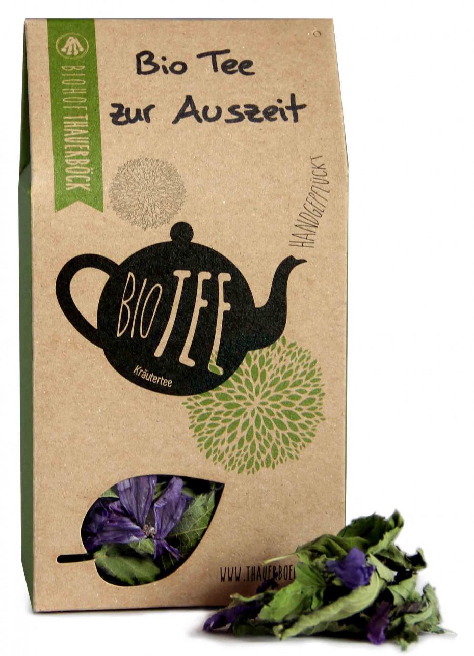 Bio Tee zur Auszeit