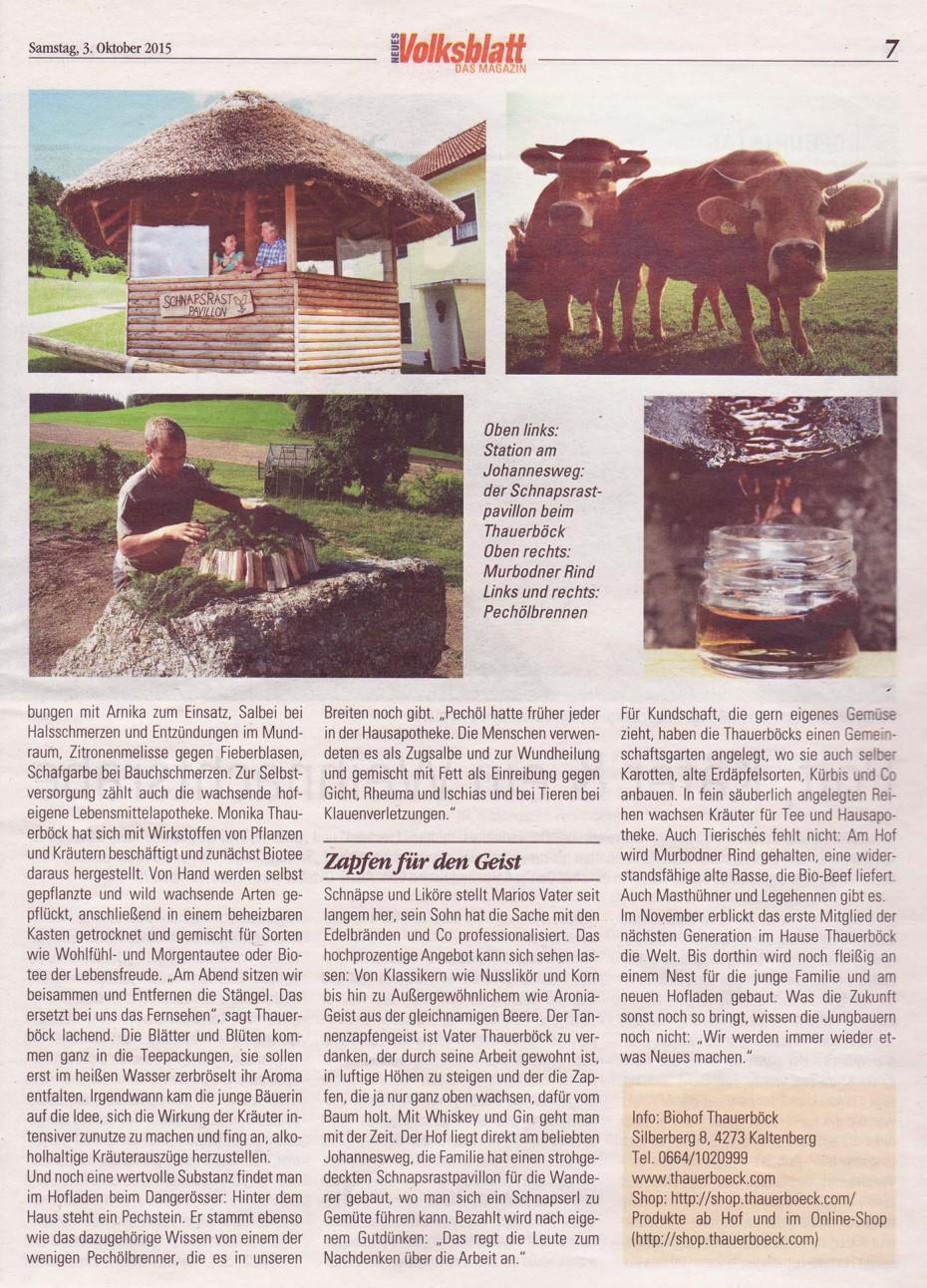 Volksblatt Biohof 7