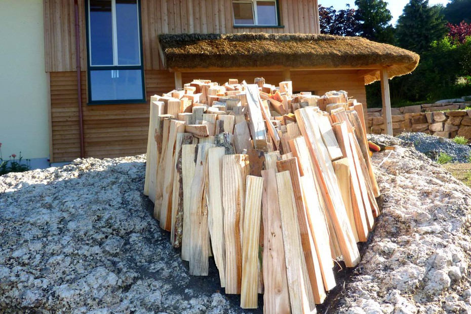Pechöl brennen 2016 Holz