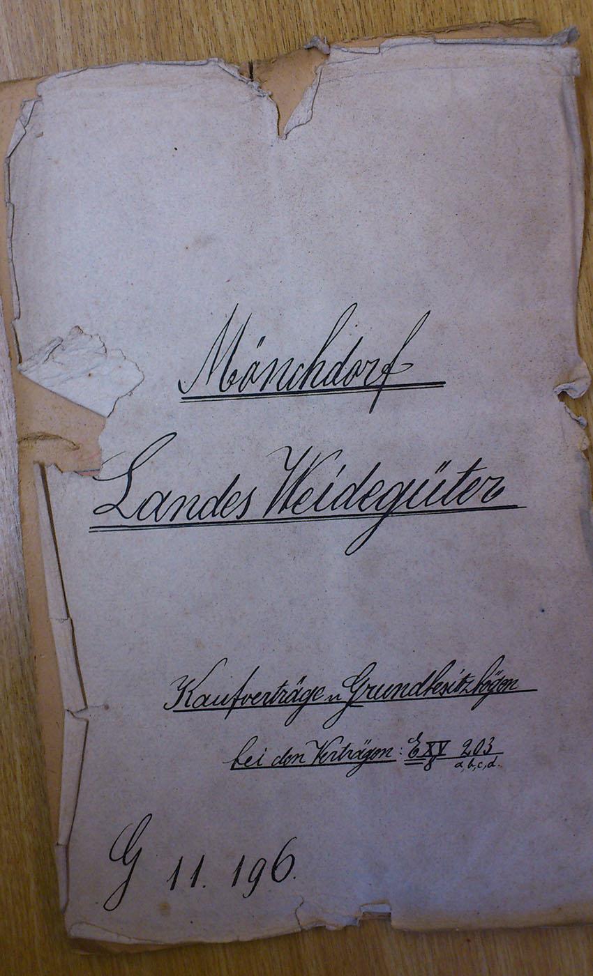 Kaltenberger Winterroggen Landesarchiv Weidegut