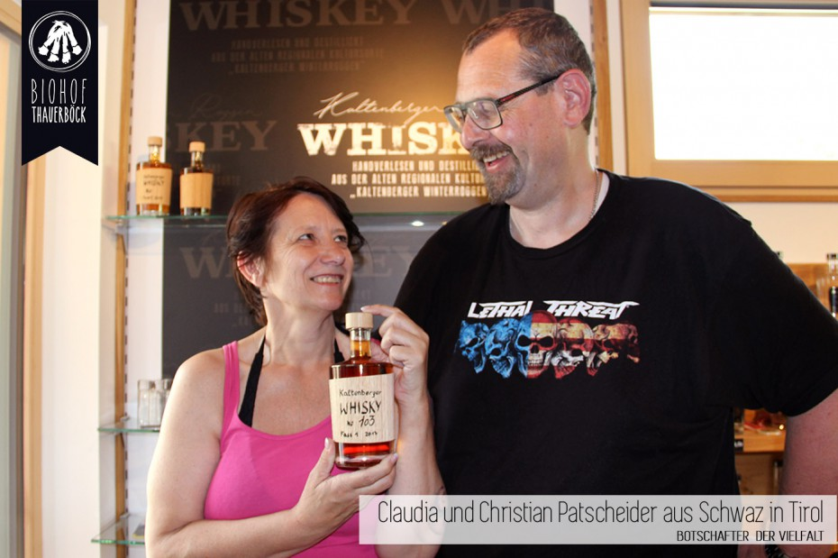 Claudia und Christian Patscheider