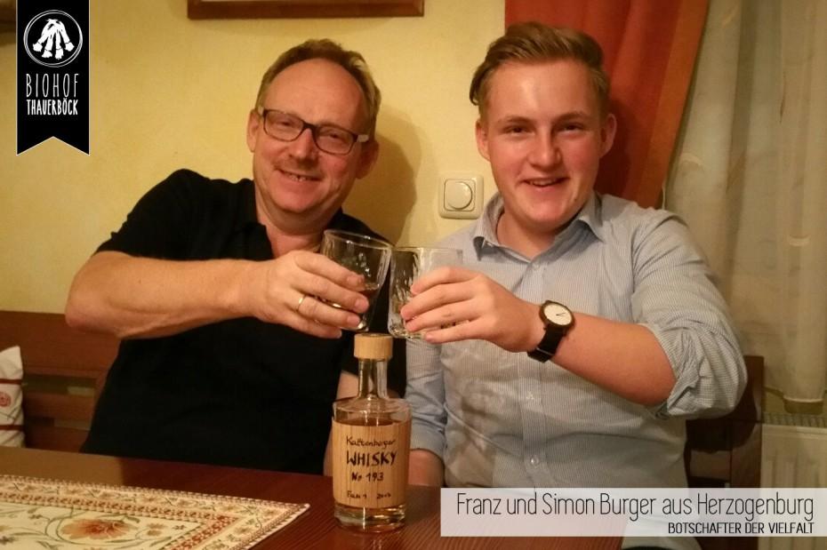 Franz und Simon Burger