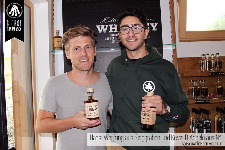 Hansi Werfring und Kevin D´Angelo