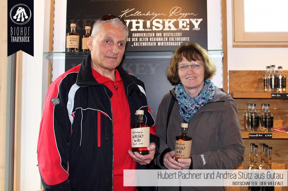 Hubert Pachner und Andrea Stütz