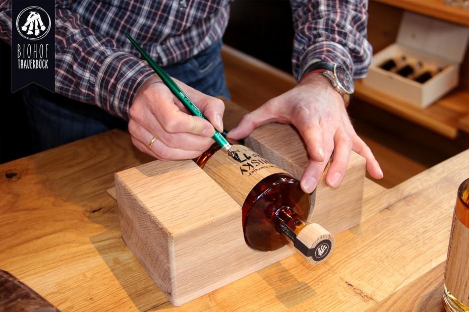 Kaltenberger Whisky handsiegniert
