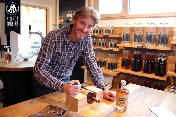 Kaltenberger Whisky selbst siegniert