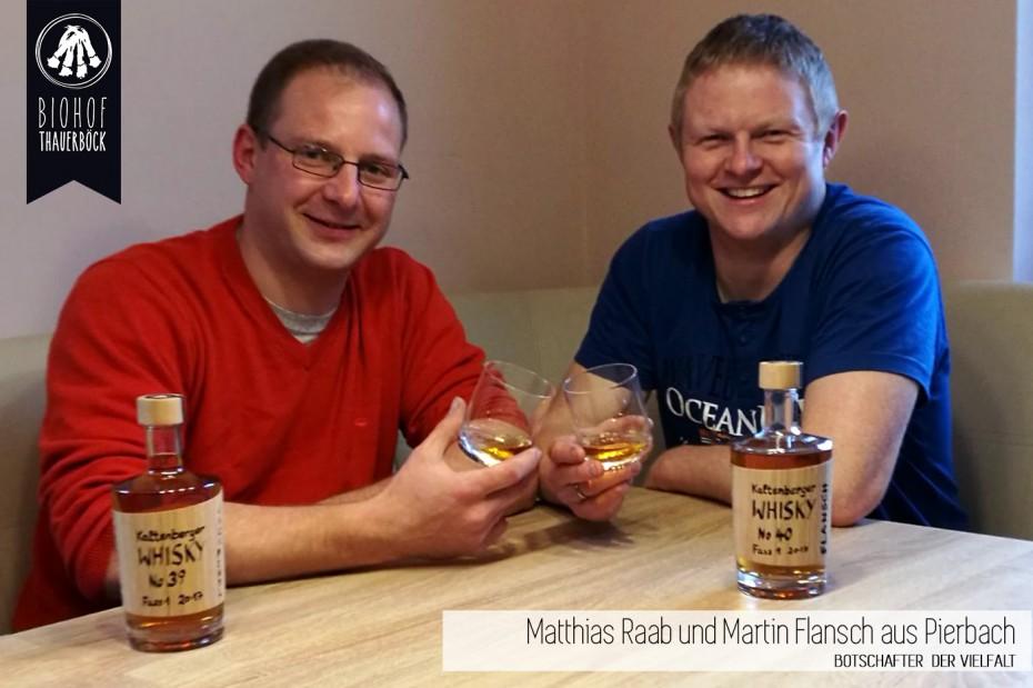 Matthias Raab und Martin Flansch