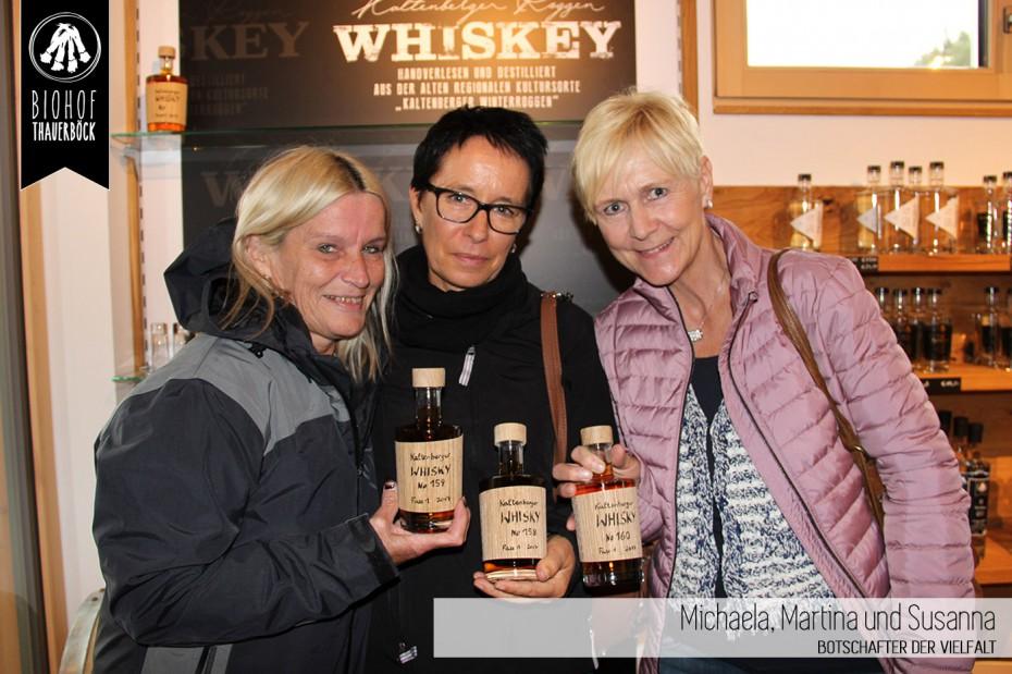 Michaela, Martina und Susanna