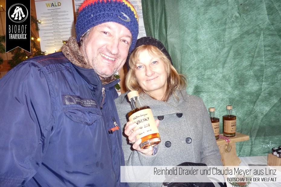 Reinhold Draxler und Claudia Meyer