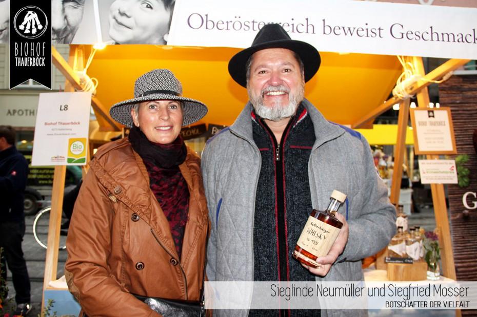 Sieglinde Neumüller und Siegfried Mosser