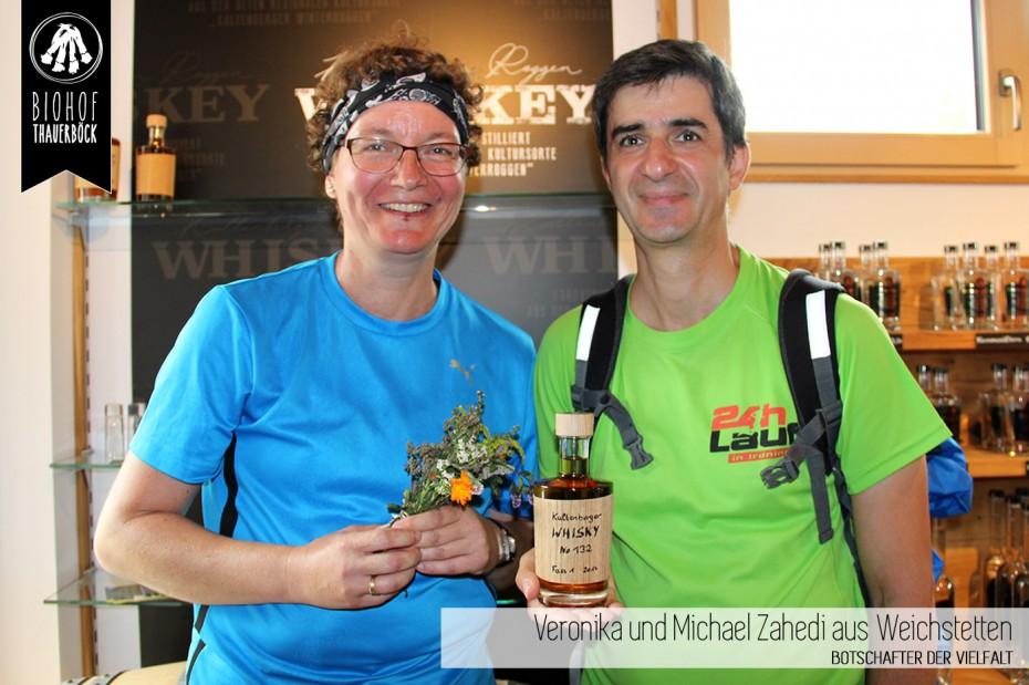 Veronika und Michael Zahedi