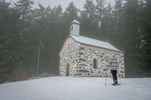 Schneeschuhwandern Mühlviertel