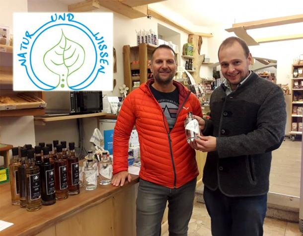 natur und wissen shop bio laden grein destillate liköre tschin gin biohof thauerböck