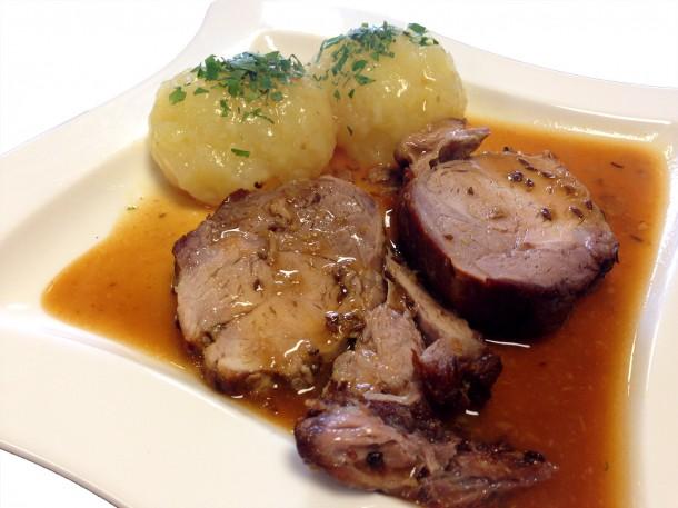 Kaltenberger Whisky Schwein Bio Schweinebraten Biohof Thauerböck Hotel Rockenschaub