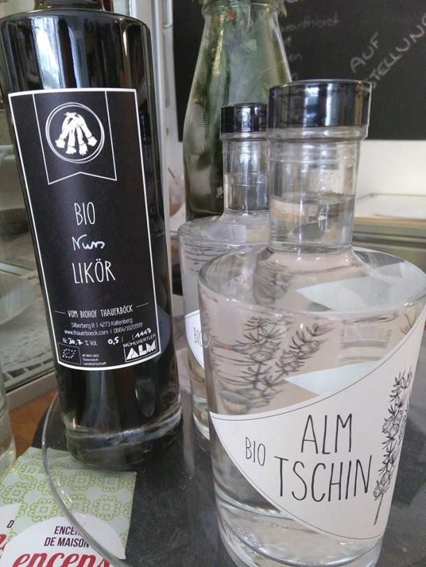 Bio Alm Tschin Bio Nusslikör Biohof Thauerböck