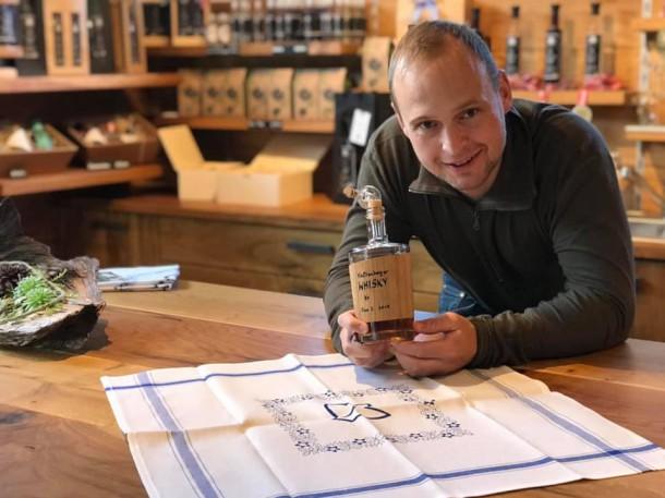 johannesweg hofladen bio whisky mühlviertel leinen weberei