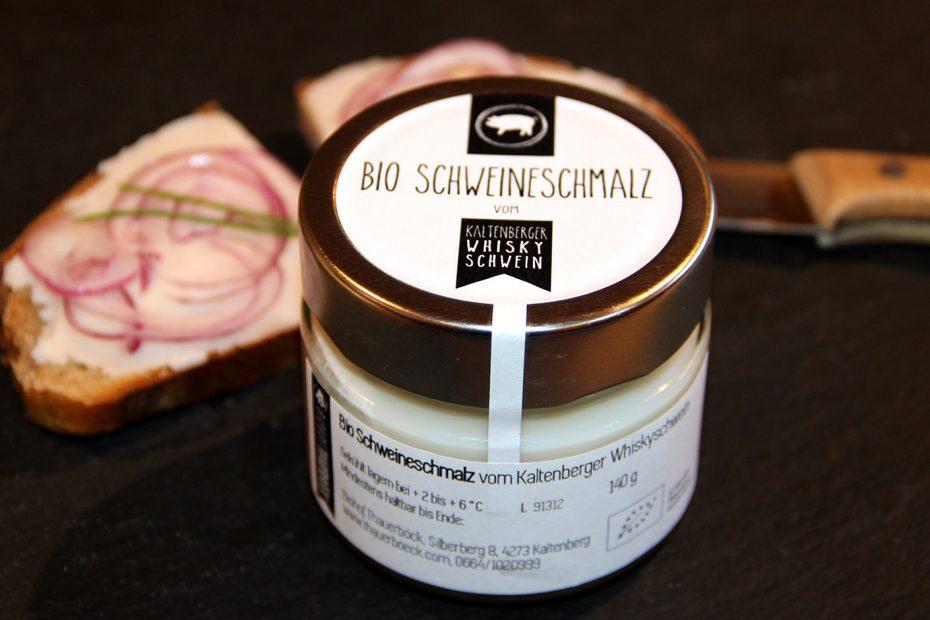 Bio Schweineschmalz